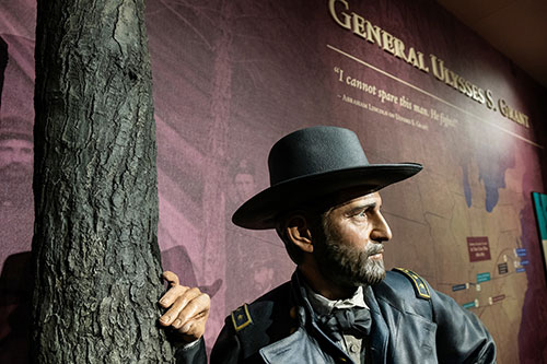 Ulysses Grant statue