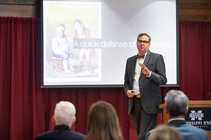 Associate Professor of History Jim Giesen