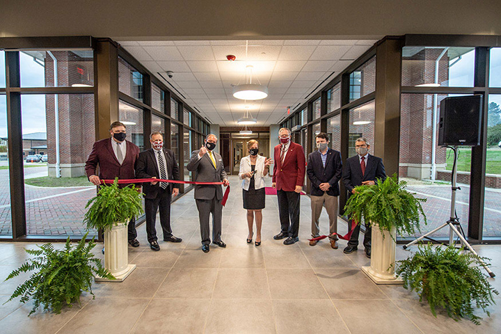Poultry Science Building ribbon-cutting ceremony