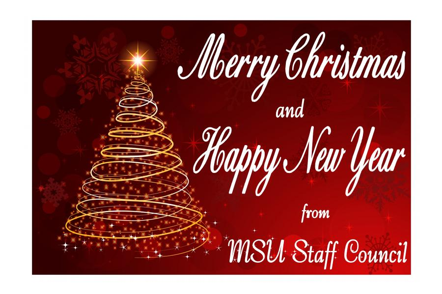 2013 MSU Staff Council Christmas Card